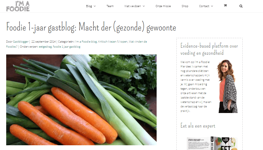 In de media: gastblog i am a foodie | Its a Food Life