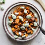 Recept voor geroosterde zoete aardappel met five spice | It's a Food Life