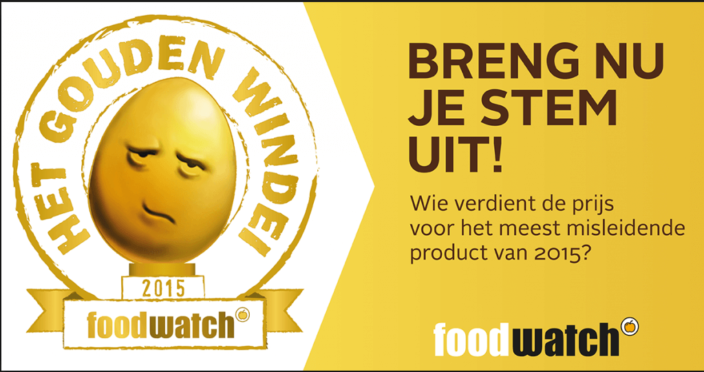 Foodwatch gouden windei 2015