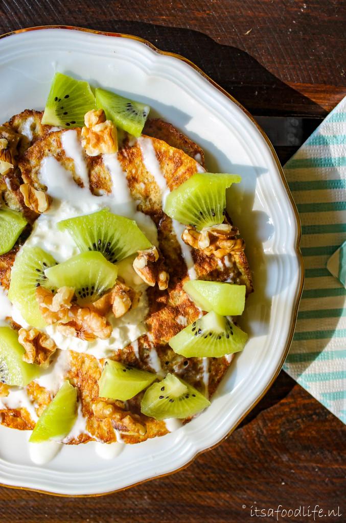 havermout banaan pannenkoekjes | It's a Food Life