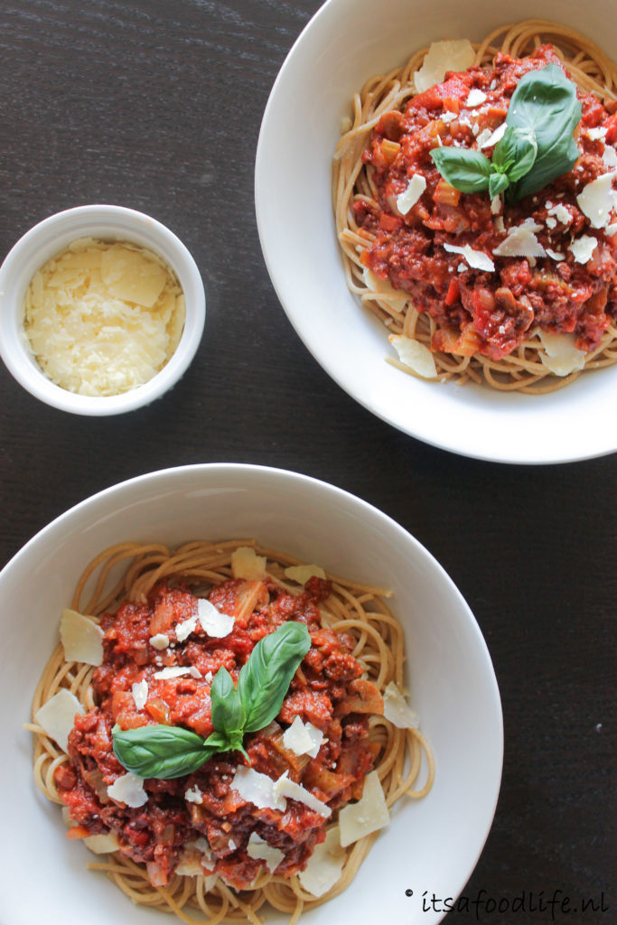 het beste recept voor spaghetti bolognese | It's a Food Life