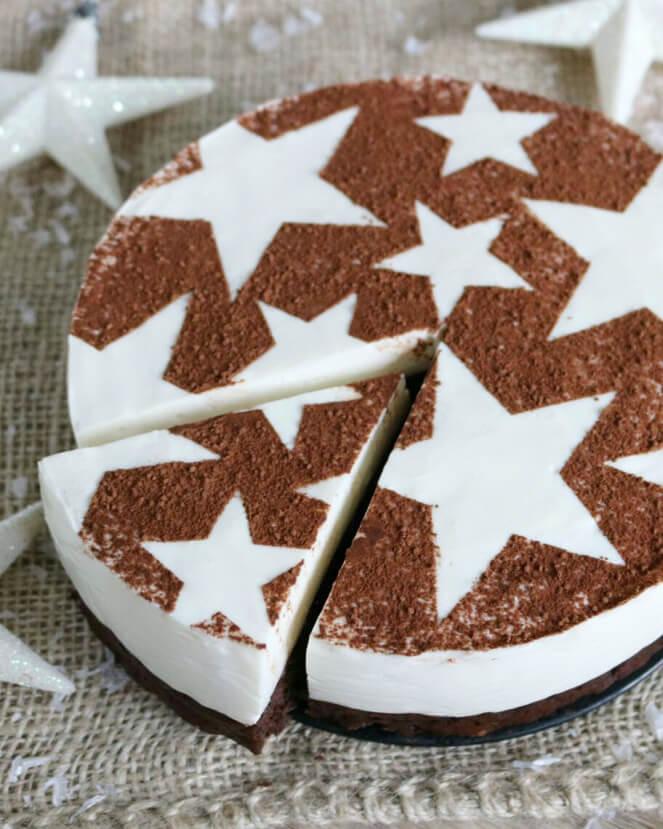 kerst cheesecake recept