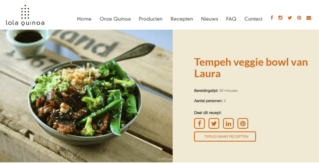 In de Media: lola quinoa | Its a Food Life