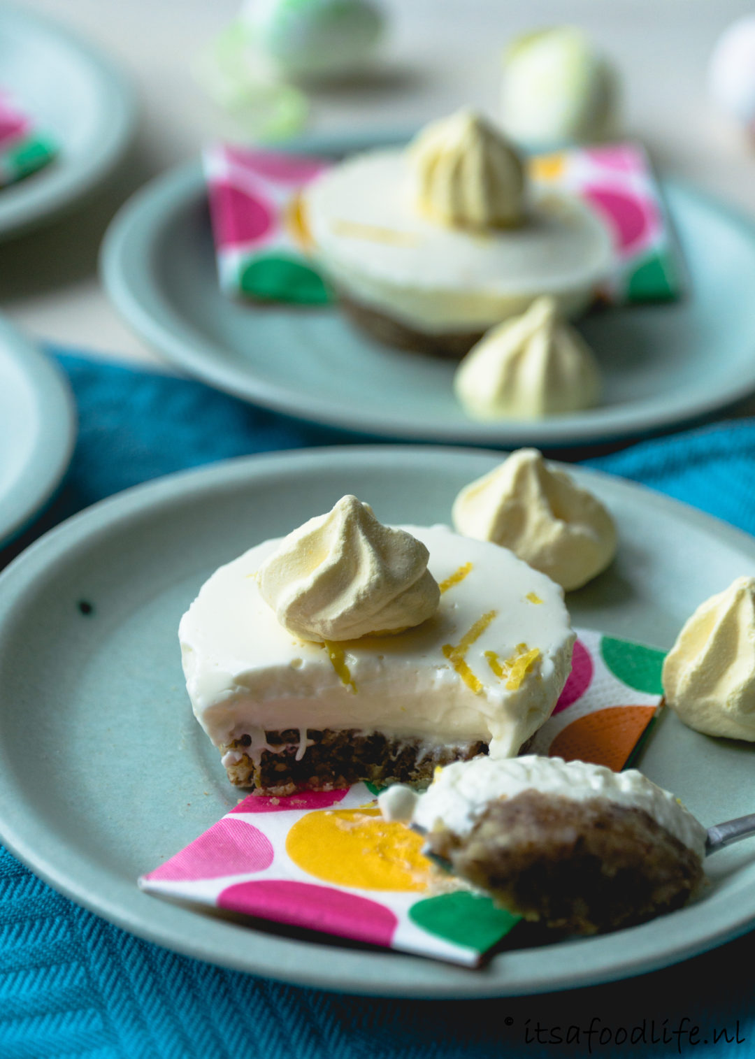 Makkelijk recept voor mini citroen cheesecake | It's a food life
