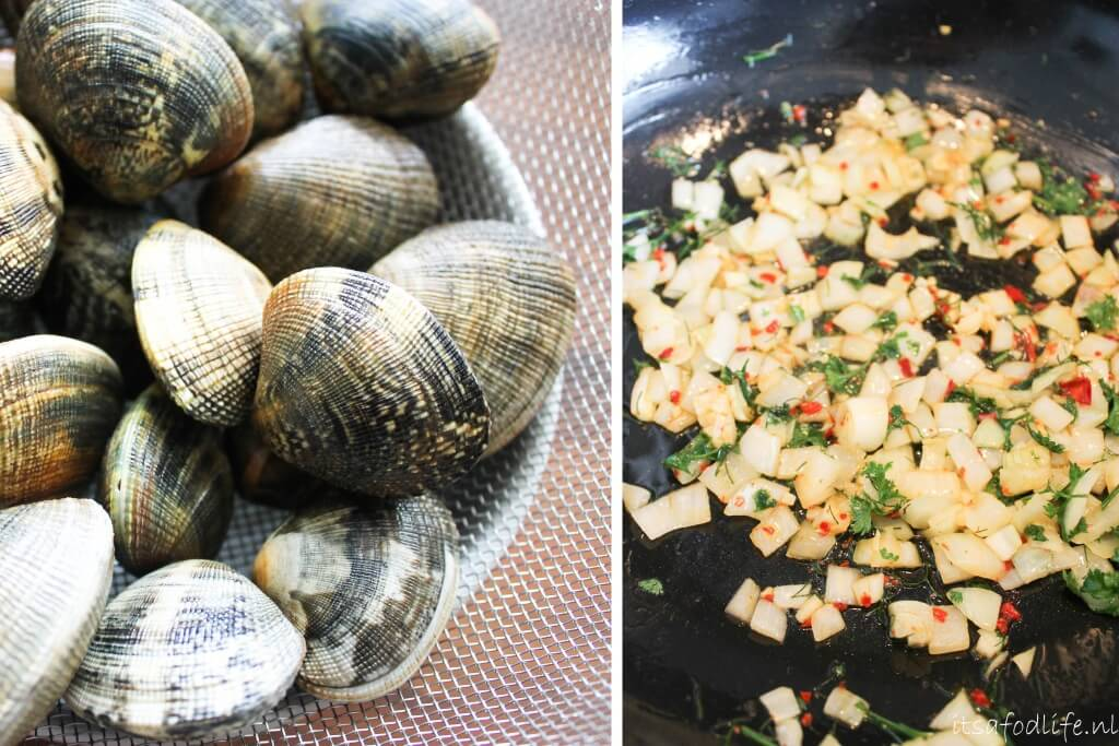 pasta salade met vongole | It's a Food Life