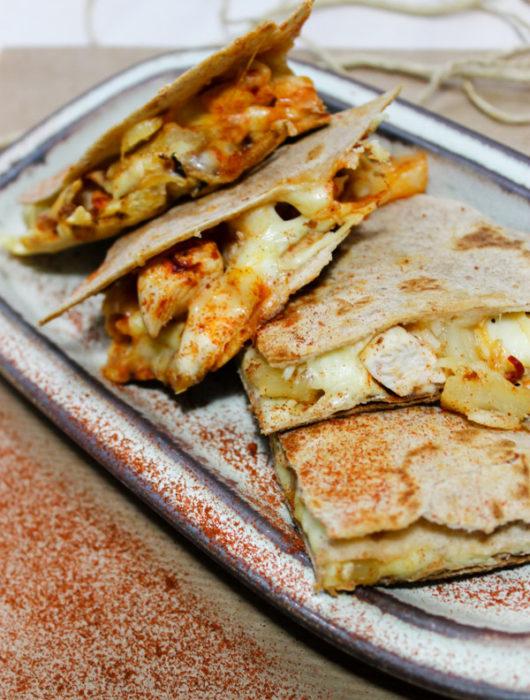 quesadilla met kip in 3 verschillende smaken | It's a Food Life