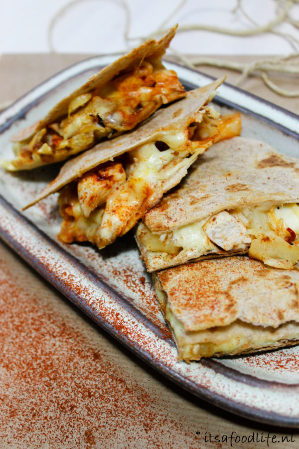 quesadilla met kip in 3 verschillende smaken | It's a Food Life