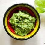 Recept voor gepaneerde pesto witvis met kruidige quinoa salade | It's a Food Life