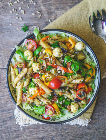 recept voor pastasalade | It's a food life