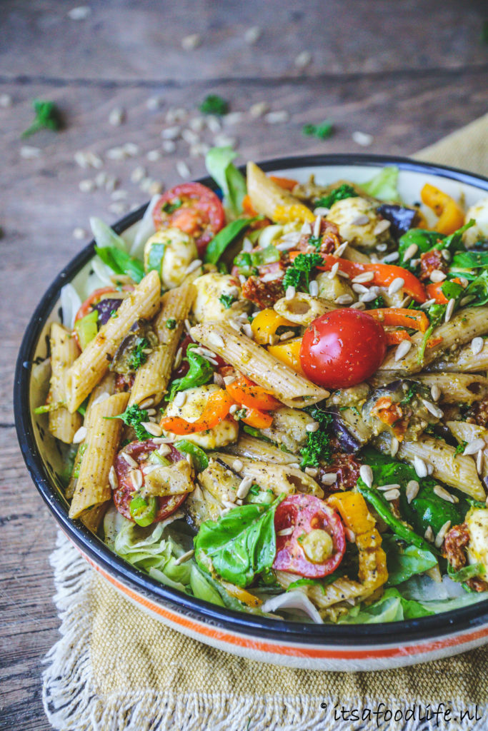 recept voor pastasalade | It's a food life