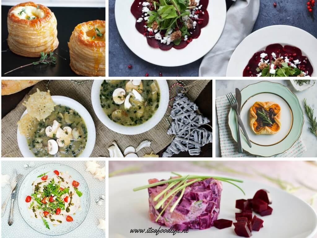 Kerst Inspiratie: voorgerechten kerstmenu | It's a Food Life
